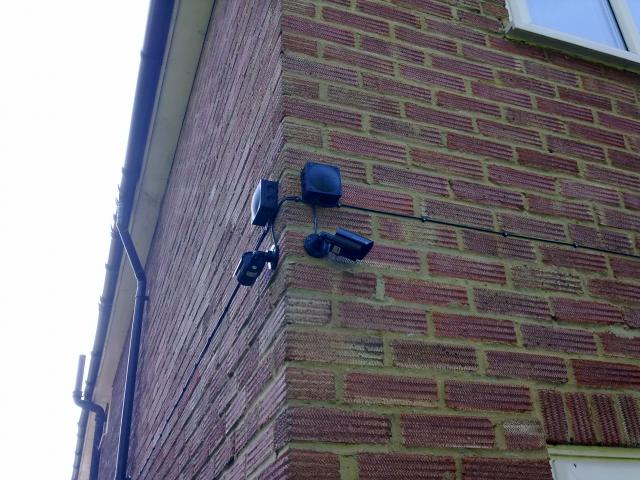 Smd electrical services garden security lighting security cameras protecting passage ways doors aloadofball Choice Image